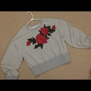 Sweatshirt Style Top Medium